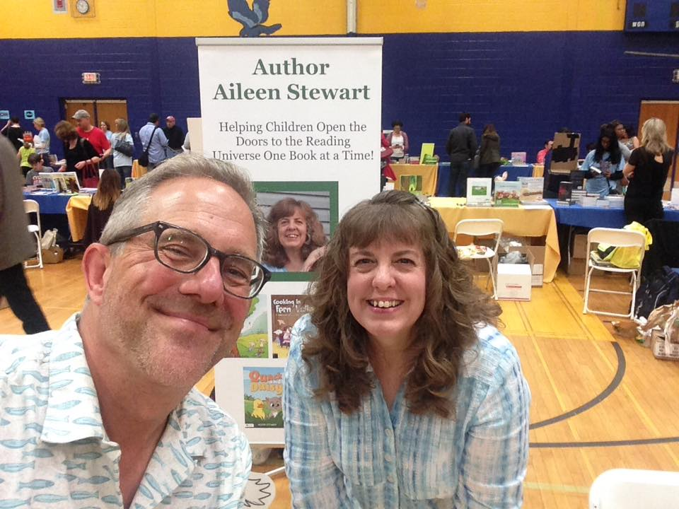 David and I Hudson Children's Book Fest 2016